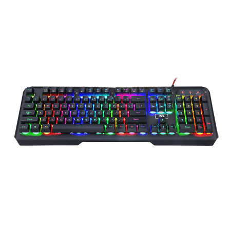 Redragon K506 Centaur 7-Color Rainbow Backlit Full-Size Gaming Keyboard With Numeric Keypad