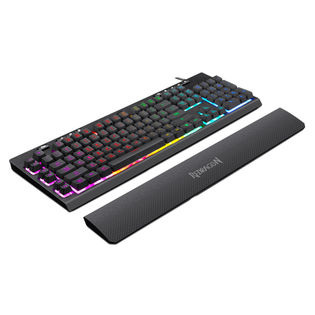 Redragon K512 SHIVA RGB Membrane Gaming Keyboard with Multimedia Keys