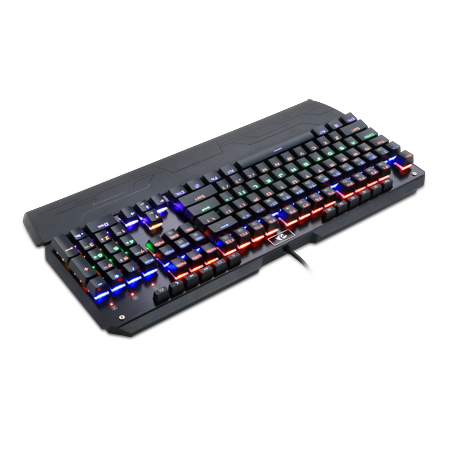 Redragon K555-R INDRAH Rainbow LED Backlit Mechanical Gaming Keyboard