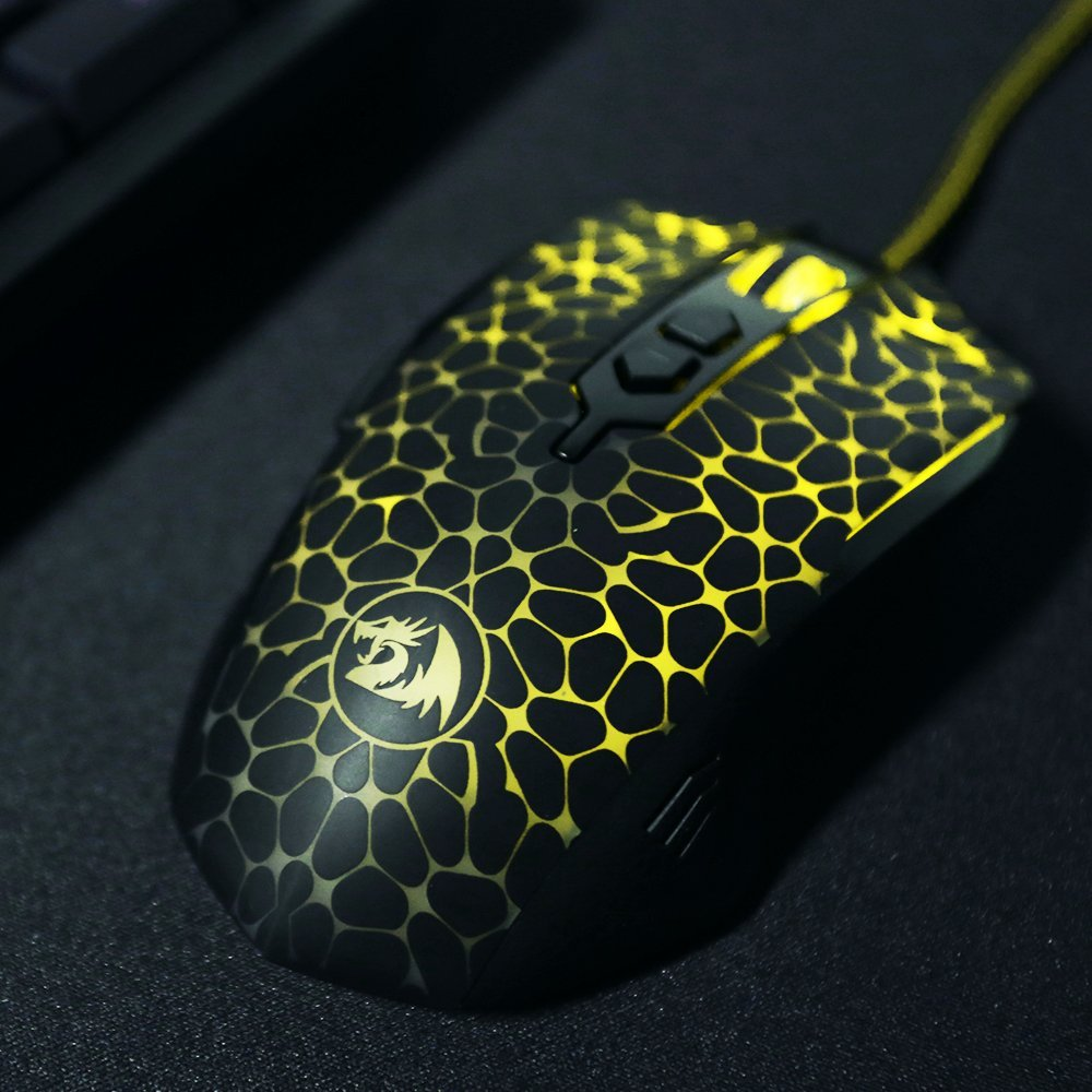 Redragon M716 Inquisitor Rgb Gaming Mouse Redragon Zone
