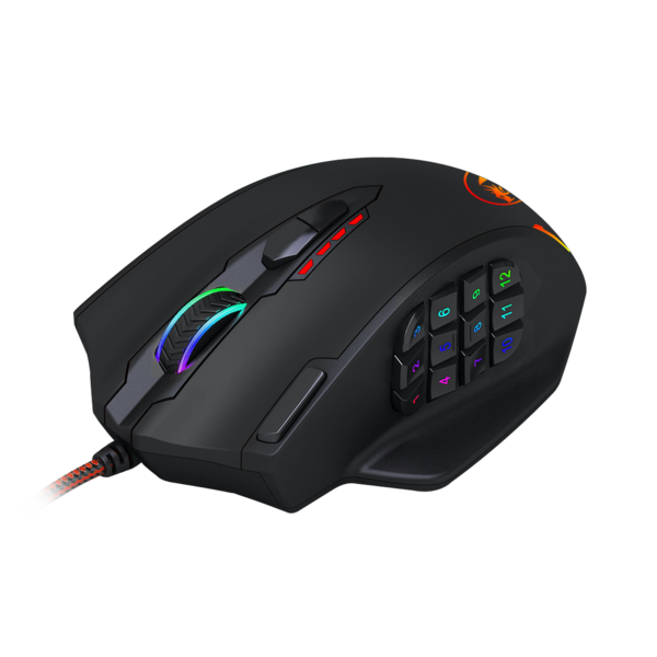 Redragon M908 Impact Rgb Led Mmo Mouse Laser Wired Gaming Mouse Redragon Zone