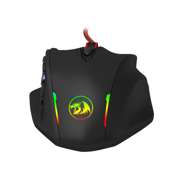 Redragon M908 Impact RGB LED MMO Mouse Laser Wired Gaming
