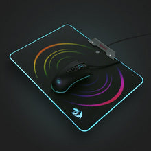 Redragon P011 Orion RGB Mousepad, Hard Surface, Waterproof, Colorful LED Lighting Gaming Mouse Pad Mat for Computer Laptop Notebook