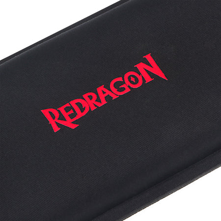 Redragon P023 Wrist Rest Pad Support for Keyboards Ergonomic Wrist Hand Rest Cushion for Compact Slim 87 Key Office Gaming Keyboards Computer Laptop, Mac