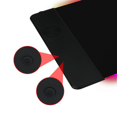 Redragon P025 Qi 10w Fast Wireless Charging Mouse Pad 9