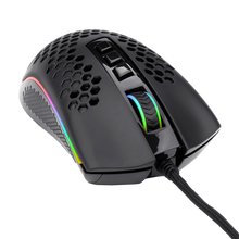 Redragon M808 Storm Lightweight RGB Gaming Mouse, 85g Ultralight Honeycomb Shell