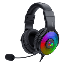 Redragon H350 Pandora RGB Wired Gaming Headset, Dynamic RGB Backlight - Stereo Surround-Sound - 50MM Drivers - Detachable Microphone