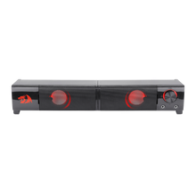 Redragon GS550 Orpheus PC Gaming Speakers, 2.0 Channel Stereo Desktop Computer Sound Bar with Compact Maneuverable Size