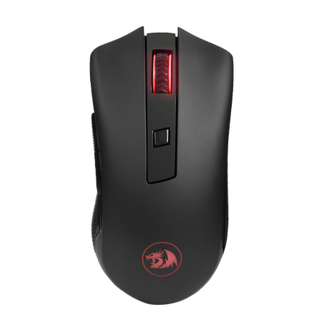 Redragon M652 Optical 2.4G Wireless Mouse with USB Receiver, Protable Gaming Mice, 5 Adjustable DPI Levels, 6 Buttons for Desktop, Notebook, PC, Laptop, Computer, Macbook