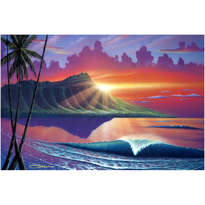 """Early Waikiki"" Acrylic Prints"