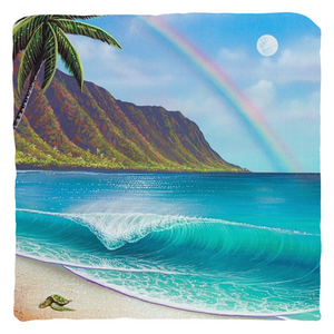 """Waialua Wednesday"" Throw Pillows"