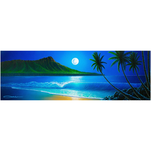 """Blue Hawaii"" Acrylic Prints"