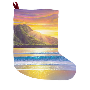 """Morning Glory"" Christmas Stockings"