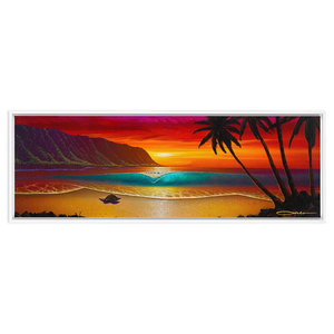 """North Shore Dream"" Framed Traditional Stretched Canvas"