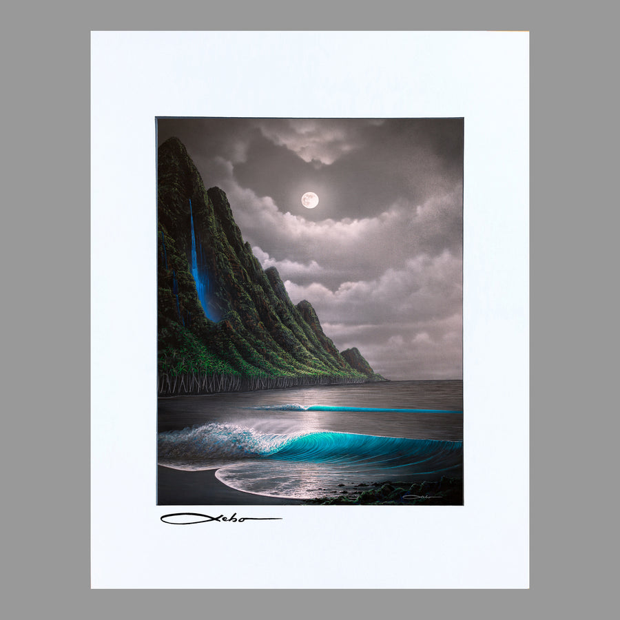 """Na Pali Dream"" 11"" x 14"" Matted print"