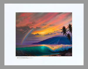 """Kihei Dream"" 11"" x 14"" Matted Print"