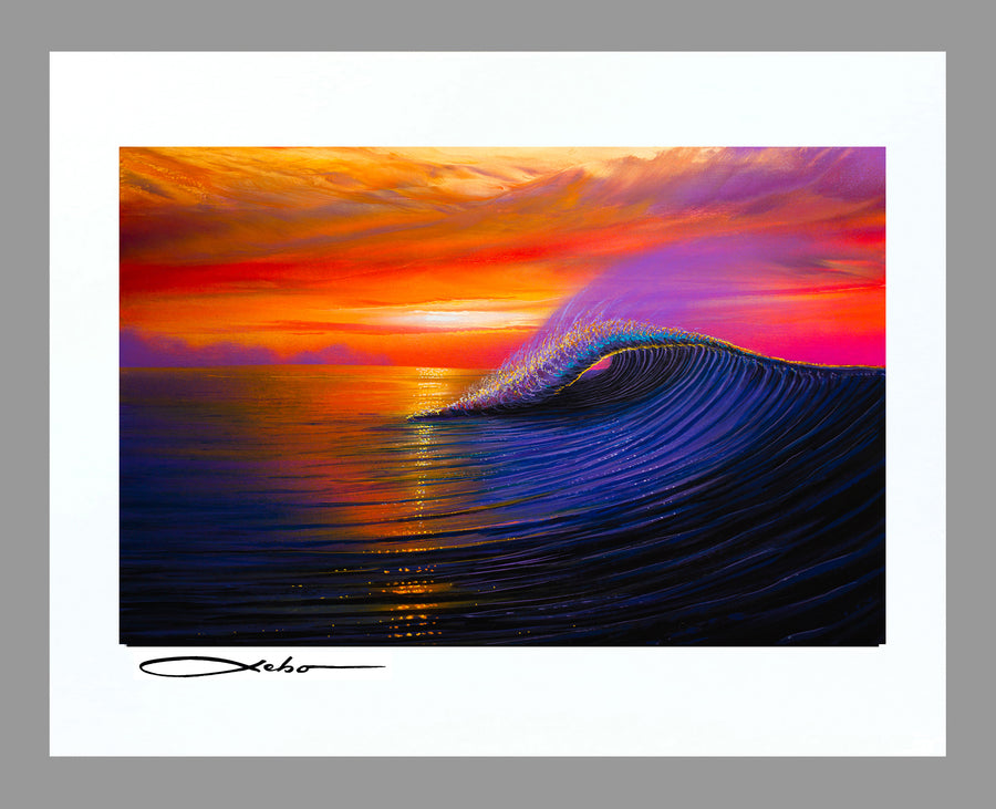 """Sunset Magic"" 11"" x 14"" Matted Print"