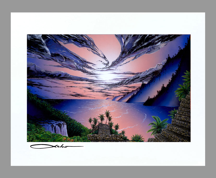 """The Dream Path"" 11"" x 14"" Matted Print"
