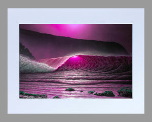 """Full Moon Pink"" 11"" x 14"" Matted Print"