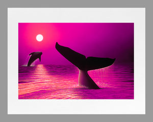 """Perfect Moment Pink"" 11"" x 14"" Matted Print"