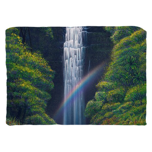"""Kauai Falls"" Throw Pillows"