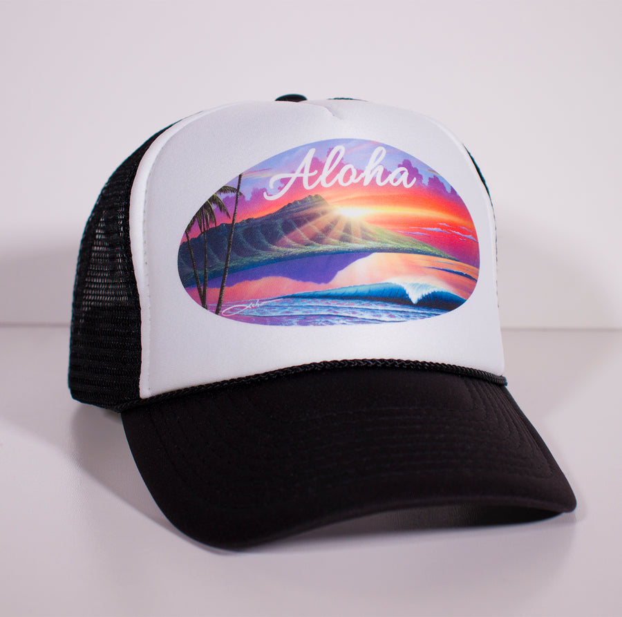 Aloha Diamond Head Hat - SeboArt.com