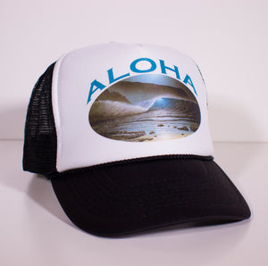 Full Moon Aloha Hat - SeboArt.com
