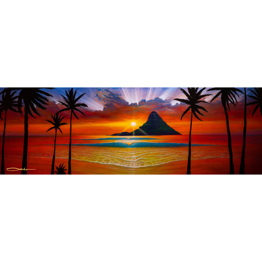 """Another Day In Paradise"" Limited Edition Fine Art Giclee - SeboArt.com"