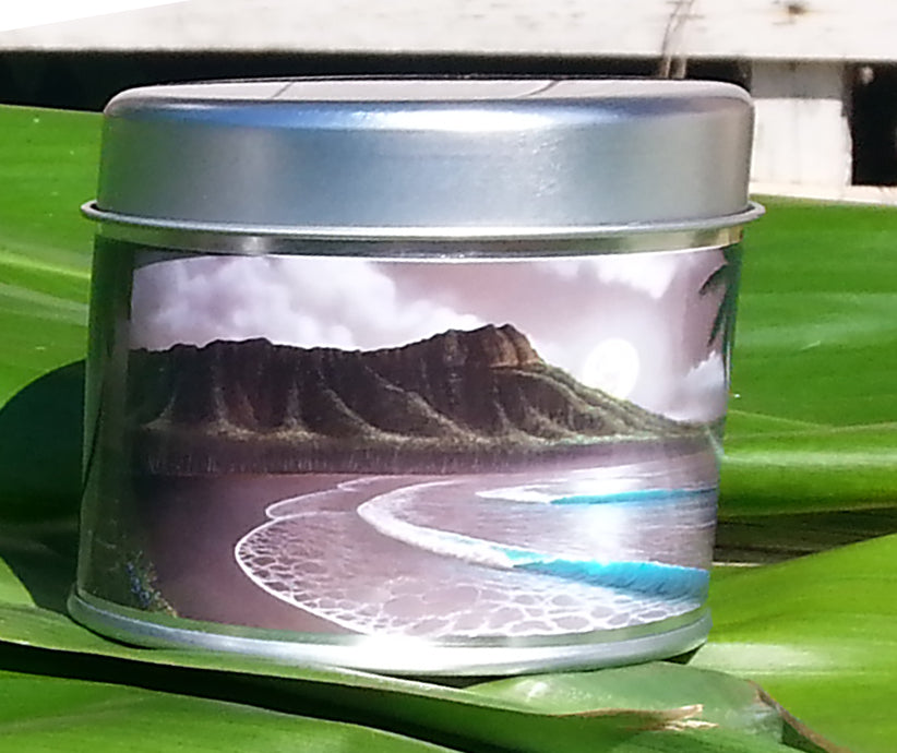 Moon Rise Waikiki Limited Edition Candle - SeboArt.com