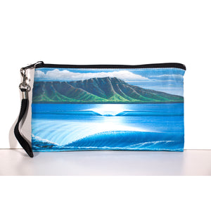 """Diamond Head Summer"" Clutch Bag - SeboArt.com"
