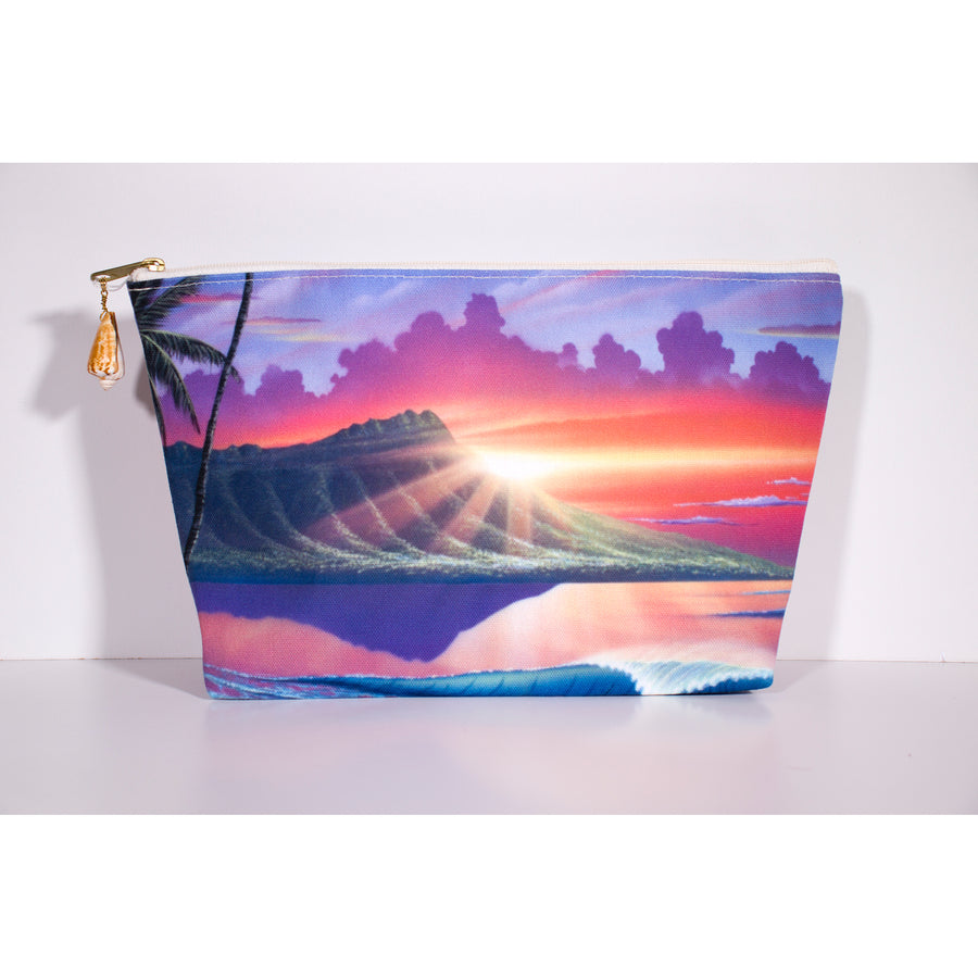 """Early Waikiki"" Accessories Pouch - SeboArt.com"