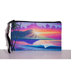 """Early Waikiki"" Clutch Bag - SeboArt.com"