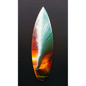 """Emotions"" Mini Surfboard Art Print - SeboArt.com"