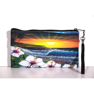 """Ehukai Beach"" Clutch Bag - SeboArt.com"