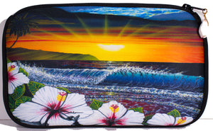 """Ehukai Beach"" Cosmetic Pouch"