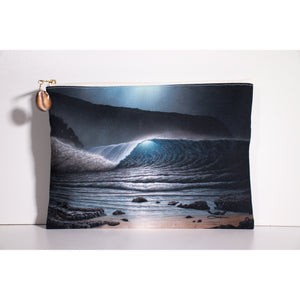 """Full Moon"" Accessories Pouch - SeboArt.com"