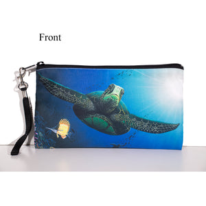"""Honu Reef"" Clutch Bag - SeboArt.com"