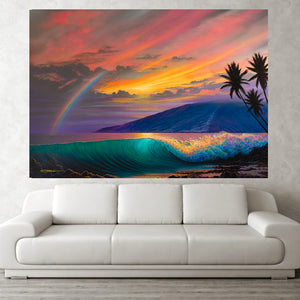 """Kihei Dream""  Original Painting on 36"" x 48"" Canvas"