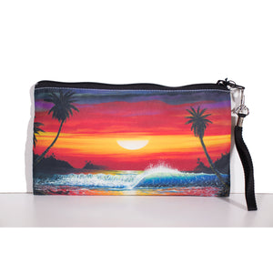"""Long Kiss Goodnight"" Clutch Bag - SeboArt.com"