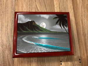Moon Rise Waikiki Jewelry Box