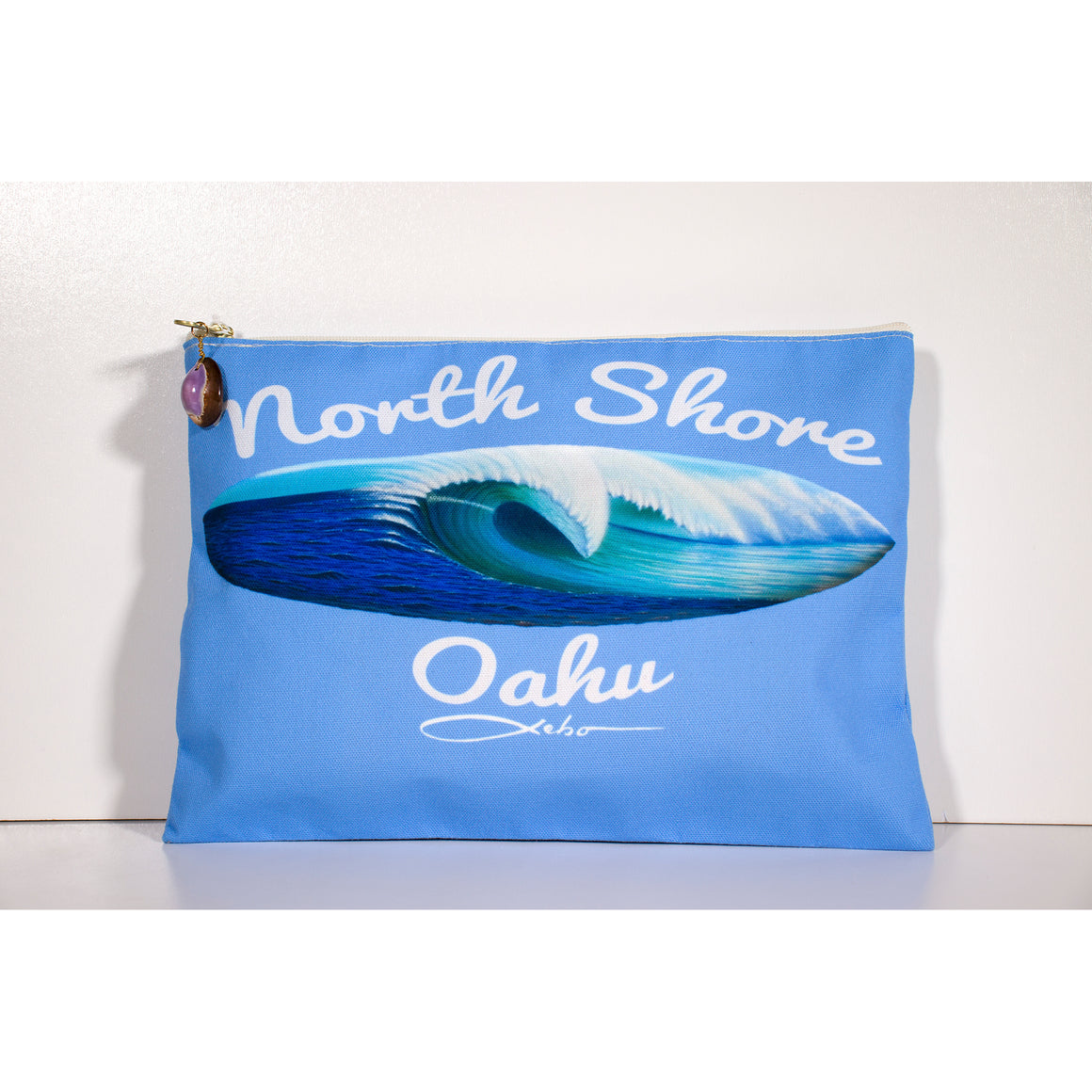 """North Shore Oahu"" Accessories Pouch"