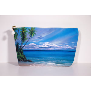 """Oceans"" Accessories Pouch - SeboArt.com"
