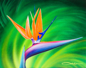 """Paradise"" 11""x 14"" Original Painting on Canvas (Sold)"