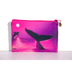 """Perfect Moment Pink"" Clutch Bag - SeboArt.com"