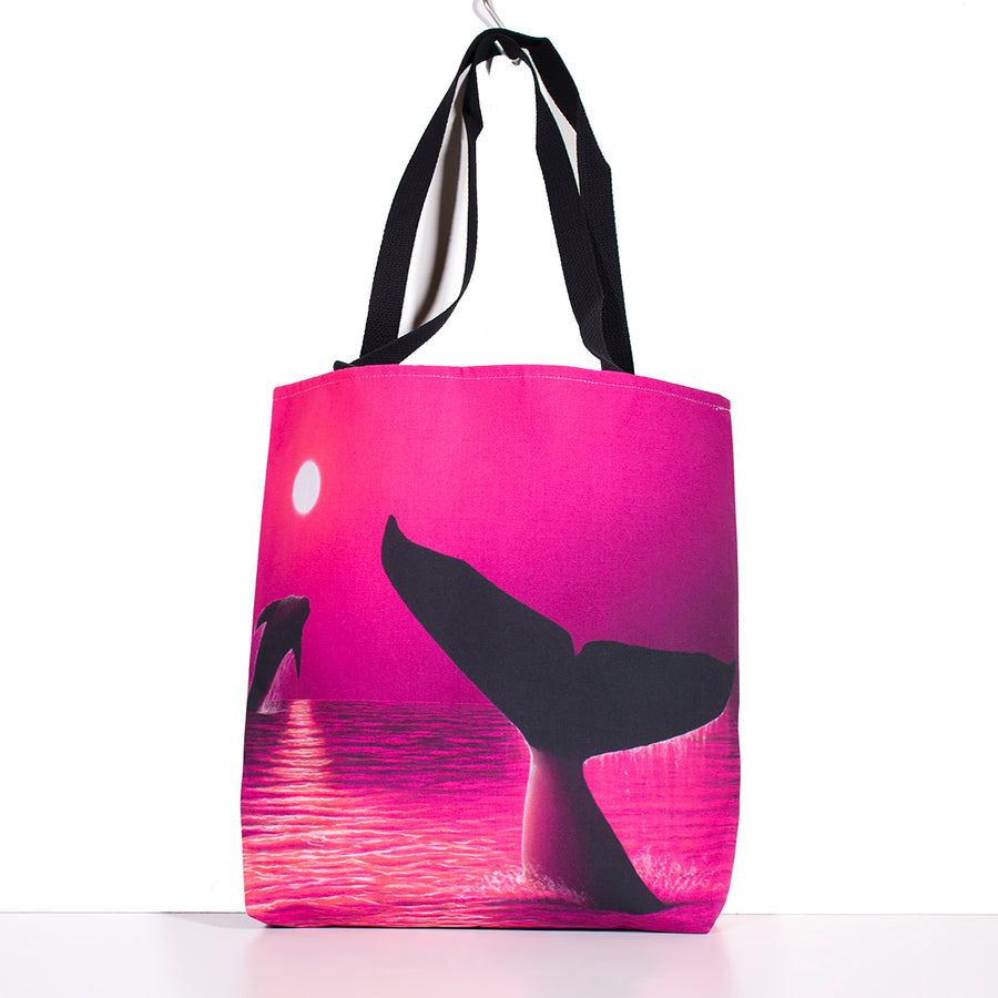 """Perfect Moment Pink"" Tote Bag - SeboArt.com"