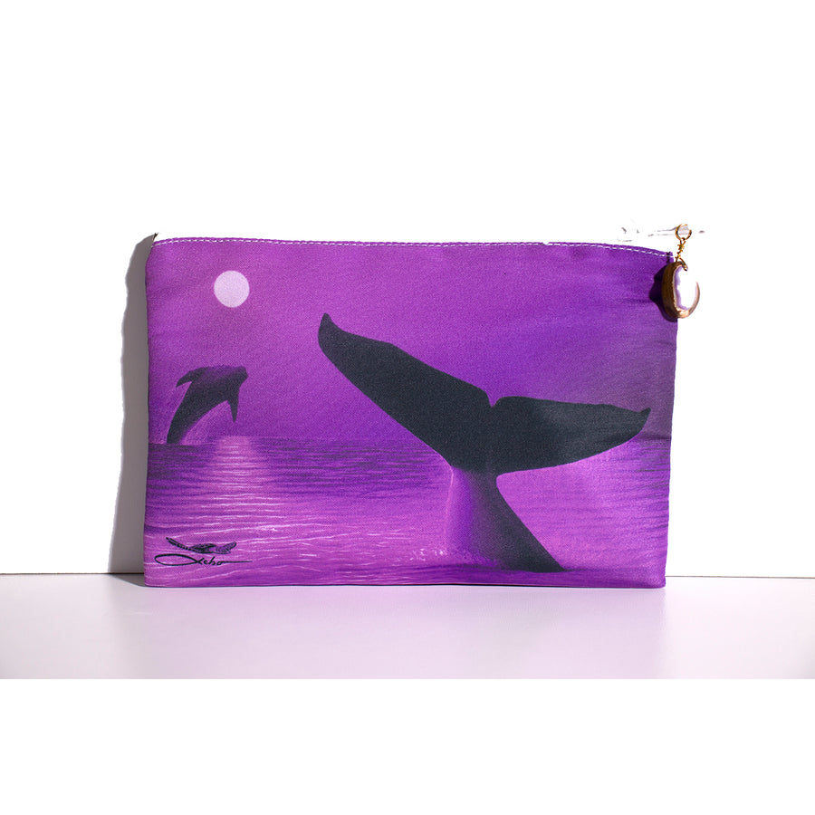 """Perfect Moment Purple"" Clutch Bag - SeboArt.com"