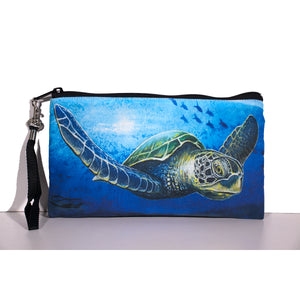 """Solo Honu"" Clutch Bag"