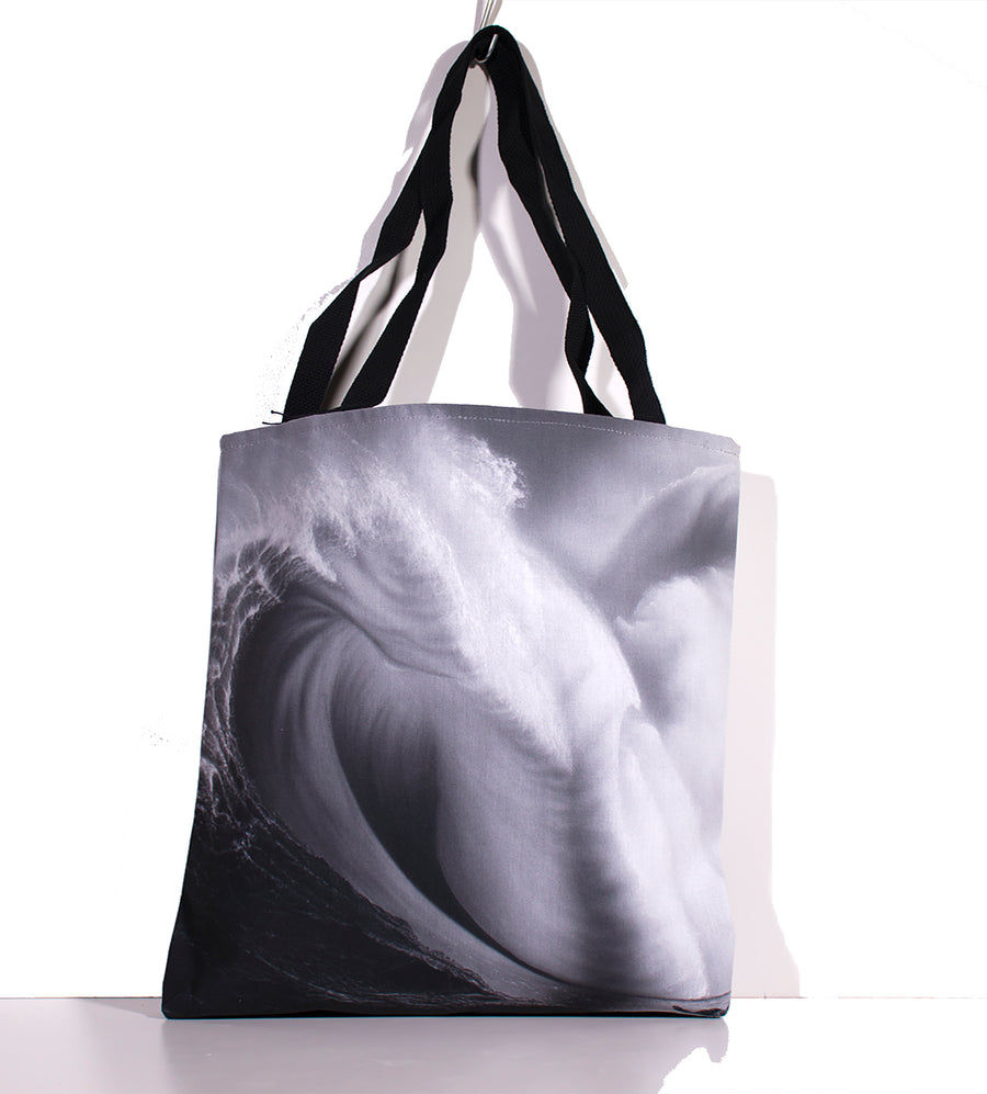 """Sublime Black and White"" Tote Bag - SeboArt.com"