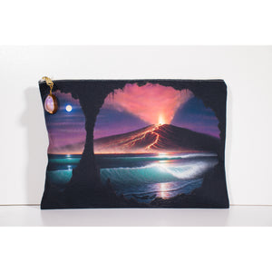 """Voice of Pele"" Accessories Pouch - SeboArt.com"