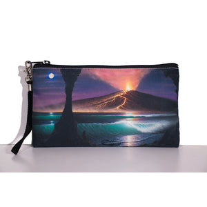 """Voice of Pele"" Clutch Bag - SeboArt.com"